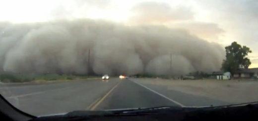 Nube caduta nella zona di Xinjiang sulla terra!